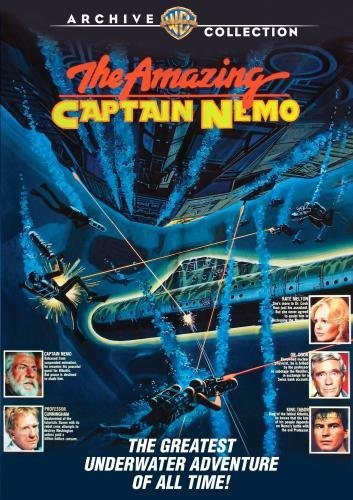 Amazing Captain Nemo Ferrer Meredith Hallick DVD Mod This Item Is Made On Demand Could Take 2 3 Weeks For Delivery