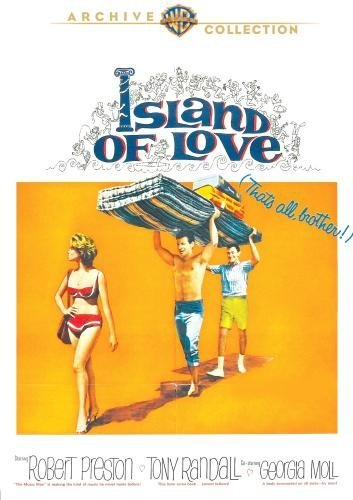Island Of Love Preston Randall Matthau Ws DVD R Nr