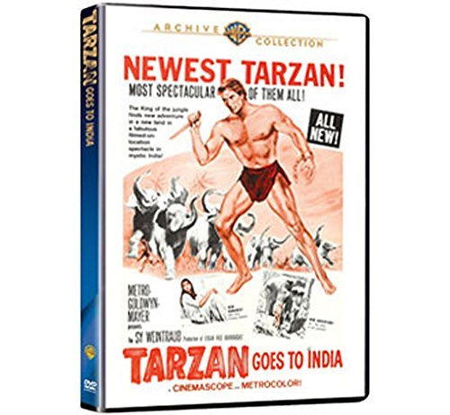 Tarzan Goes To India Mahoney Jai Ws DVD R Nr
