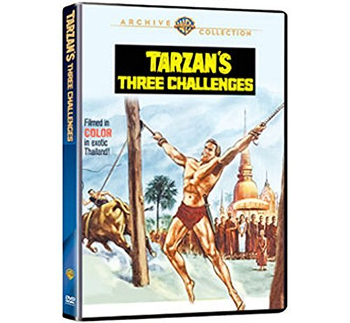 Tarzan's Three Challenges Mahoney Strode Der Ws DVD R Nr