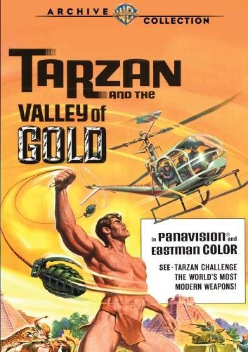 Tarzan & The Valley Of Gold Henry Kovack Opatashu Ws DVD R Nr