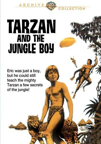 Tarzan & The Jungle Boy Henry Johnson Gur DVD R Ws G