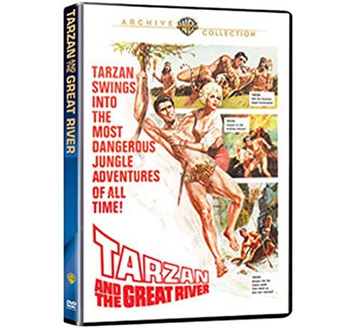 Tarzan & The Great River Henry Murray Padilla Ws DVD R G