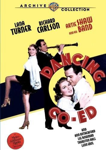 Dancing Co Ed Turner Carlson Rutherford Bw DVD R Nr