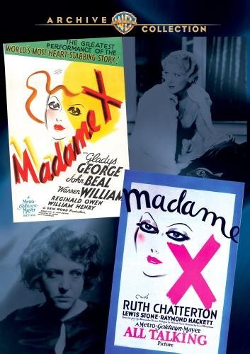 Madame X (double Feature) Wac Double Feature Made On Demand Nr 2 DVD