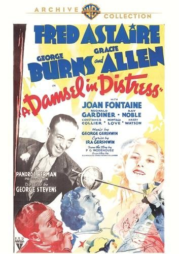 Damsel In Distress Astaire Burns Allen Made On Demand Nr