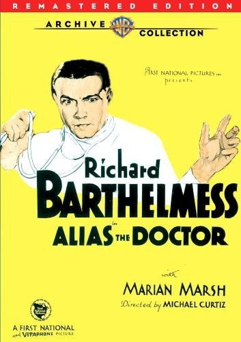 Alias The Doctor (remastered) Barthlemess Marsh Foster DVD Mod This Item Is Made On Demand Could Take 2 3 Weeks For Delivery