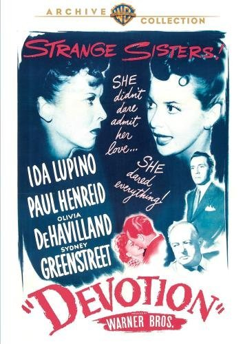 Devotion Lupino Dehavilland Henreid DVD Mod This Item Is Made On Demand Could Take 2 3 Weeks For Delivery