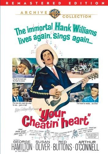 Your Cheatin' Heart Hamilton Oliver Buttons O'conn Bw DVD R Nr