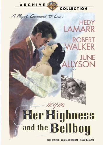 Her Highness & The Bellboy Lamarr Walker Allyson DVD Mod This Item Is Made On Demand Could Take 2 3 Weeks For Delivery