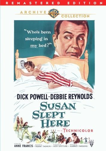 Susan Slept Here Reynolds Powell Francis Corby DVD R Nr