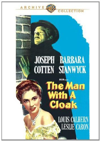 Man With A Cloak Cotton Stanwyck Calhern Made On Demand Nr