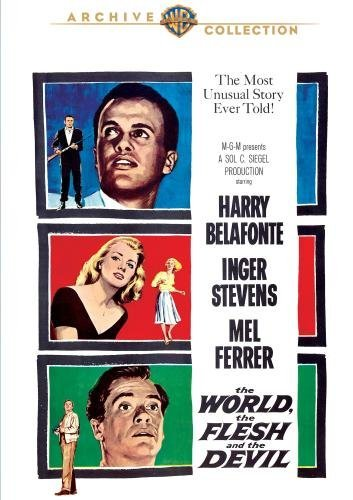 World The Flesh & The Devil Belafonte Stevens Ferrer Bw Ws DVD R Nr