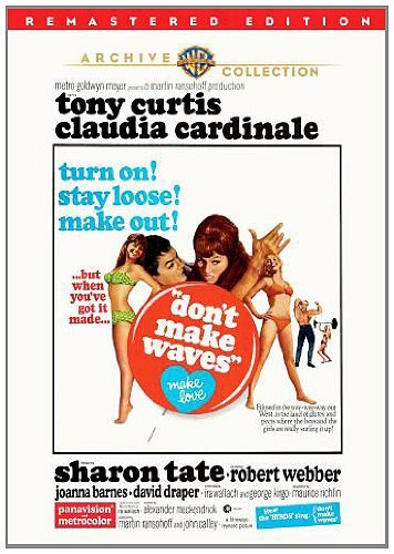 Don't Make Waves (remastered) Curtis Cardinale Tate Ws DVD R Remastered Nr