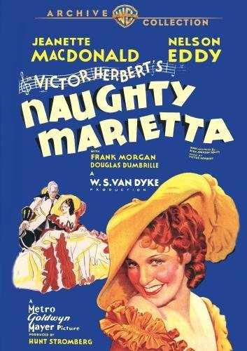 Naughty Marietta Mac Donald Eddy Morgan DVD R G