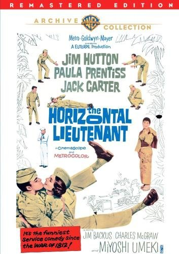 Horizontal Lieutenant (remaste Hutton Prentiss Carter Ws DVD R Nr