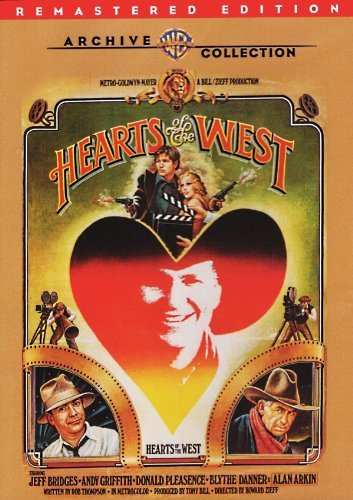 Hearts Of The West (remastered Bridges Griffith Pleasence DVD Mod This Item Is Made On Demand Could Take 2 3 Weeks For Delivery