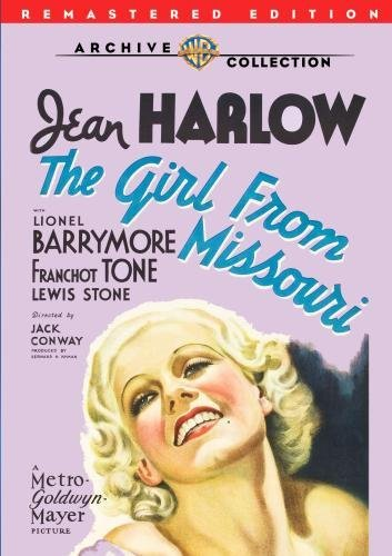 Girl From Missouri (remastered Harlow Barrymore Tone Bw DVD R Nr