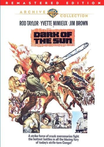Dark Of The Sun (remastered) Taylor Mimieux Brown DVD R Ws Pg