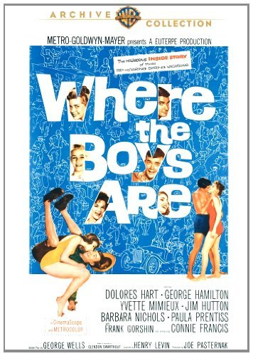 Where The Boys Are Hart Mimieux Prentiss Francis Made On Demand Nr