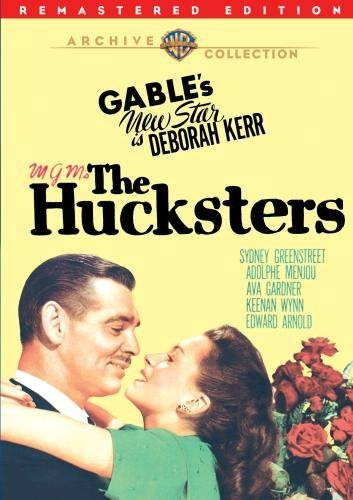 Hucksters (remastered) Gable Kerr Greenstreet DVD R Nr