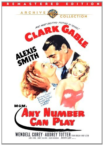 Any Number Can Play (remastere Gable Smith Corey DVD Mod This Item Is Made On Demand Could Take 2 3 Weeks For Delivery