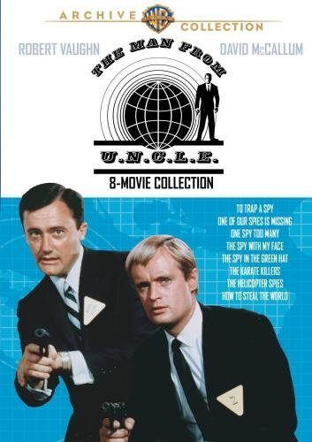 Man From U.N.C.L.E. 8 Movies C Man From U.N.C.L.E. 8 Movie C DVD R Nr