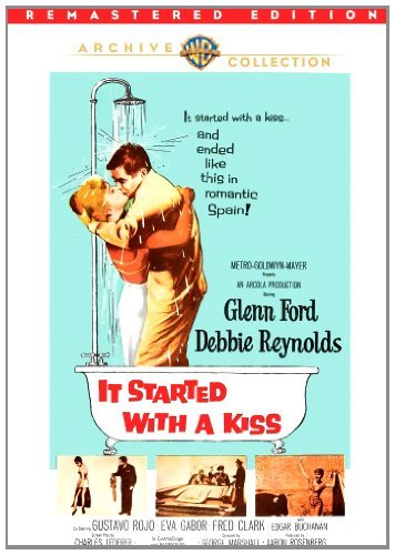 It Started With A Kiss (remast Ford Reynolds Rojo DVD R Ws Nr