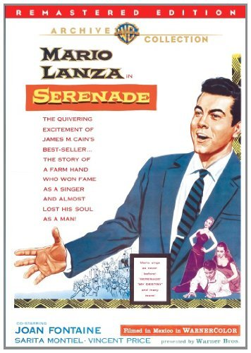 Serenade (remastered) Lanza Fontaine Montiel Price DVD Mod This Item Is Made On Demand Could Take 2 3 Weeks For Delivery