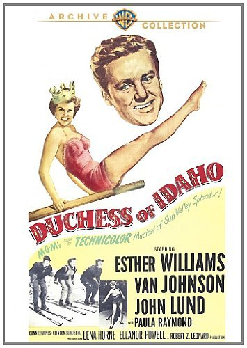 Duchess Of Idaho Williams Johnson Lund DVD Mod This Item Is Made On Demand Could Take 2 3 Weeks For Delivery