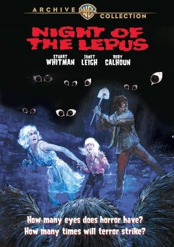 Night Of The Lepus Leigh Whitman Calhoun DVD R Ws Pg