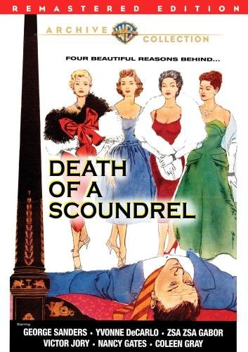 Death Of A Scoundrel (remaster Sanders Decarlo Gabor Bw Ws DVD R Nr