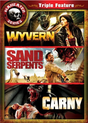 Maneater Triple Feature Wyvern Sand Serpents Carny Nr