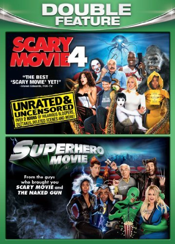 Scary Movie 4 Superhero Movie Comedy Double Feature Nr
