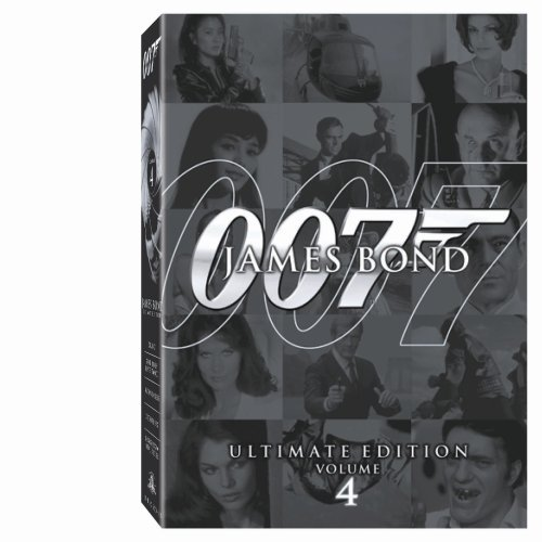 James Bond Ultimate Collection Vol. 4 Clr Nr 10 DVD