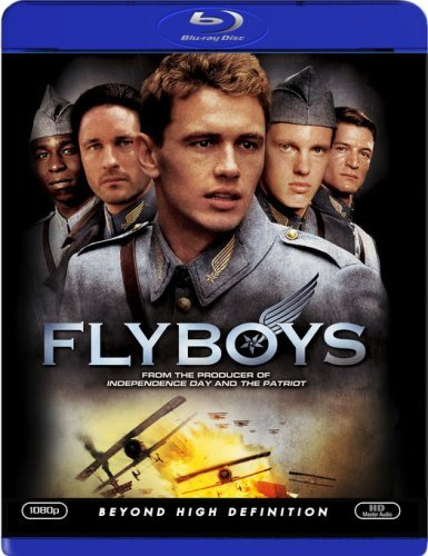 Flyboys Franco James Blu Ray Ws Pg13