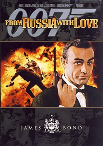 James Bond From Russia With Love Connery Sean Ws Pg