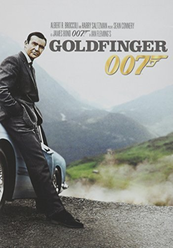 James Bond Goldfinger Connery Sean Pg Ws