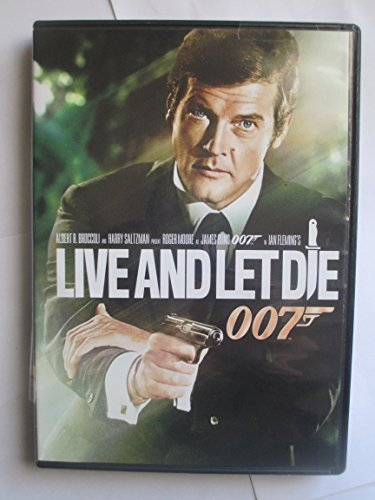 James Bond Live & Let Die Moore Roger Pg