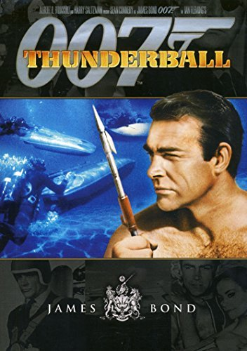 James Bond Thunderball Connery Sean Pg Ws