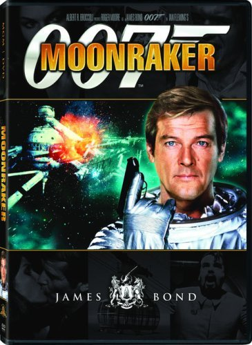 James Bond Moonraker Moore Roger Pg13 Sw
