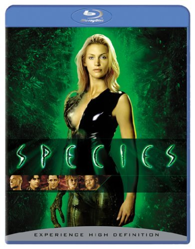 Species Kingsley Madsen Molina Whitake Blu Ray R