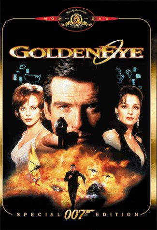 James Bond Goldeneye Brosnan Bean Scorupco Janssen Prbk 09 23 02 Pg13 Spec. Ed.