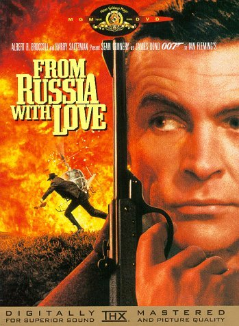 James Bond From Russia With Love Connery Sean