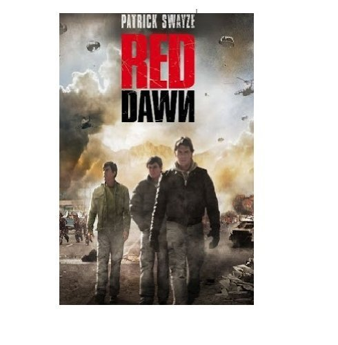 Red Dawn (1988) Swayze Howell Stanton Boothe DVD Pg13 Ws