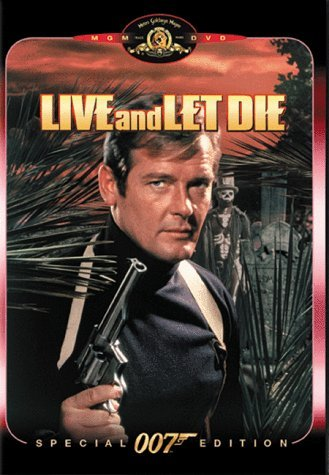 James Bond Live & Let Die Moore Seymour Kotto James Harr Pg Spec. Ed. Booklet