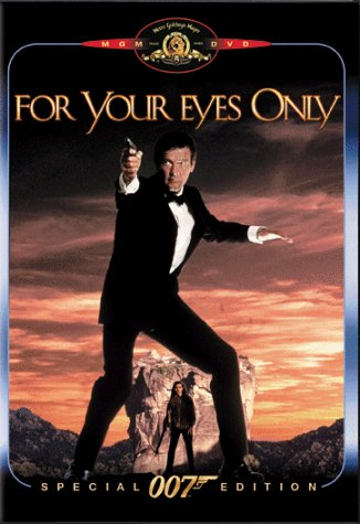 James Bond For Your Eyes Only Moore Bouquet Topol Johnson Pg Spec. Ed. Booklet