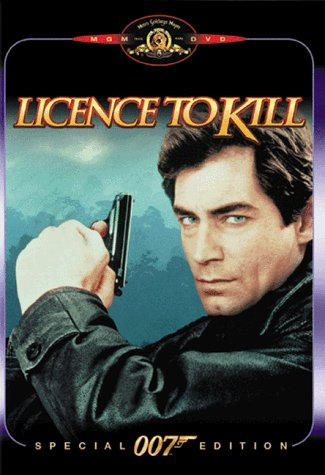 James Bond Licence To Kill Dalton Lowell Davi Soto Zerbe Prbk 09 23 02 Pg13 Spec. Ed.