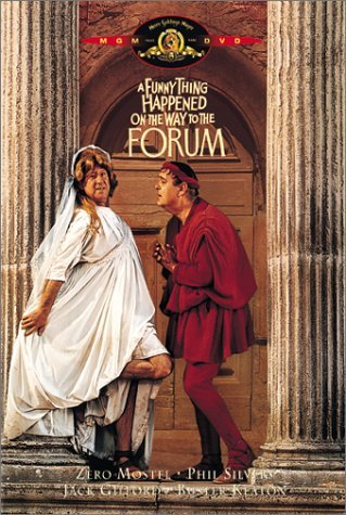 Funny Thing Happened On The Way To The Forum Mostel Silvers Gilford Keaton DVD Nr Ws