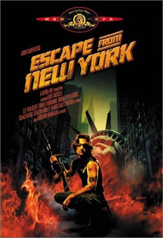 Escape From New York Russell Van Cleef Borgnine DVD R Ws